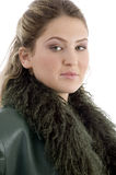 Portrait of beautiful model Royalty Free Stock Photography