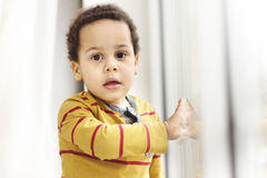 Portrait of a beautiful multi racial boy Stock Photo