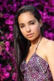 Portrait of a beautiful muslim woman Stock Photography