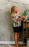 Portrait. Beautiful nice curly woman Royalty Free Stock Photos