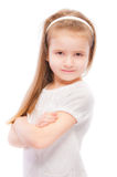 Portrait of beautiful preschool child Stock Image