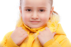 Portrait of beautiful preschool child Royalty Free Stock Photography