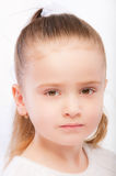 Portrait of beautiful preschool child Stock Photo