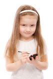 Portrait of beautiful preschool child Stock Photography