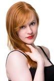 Portrait of Beautiful redhead Stock Photography