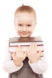 Portrait of beautiful schoolgirl Stock Photo