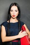 Portrait of beautiful sensual woman royalty free stock image