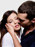Portrait of beautiful sexual couple Royalty Free Stock Image