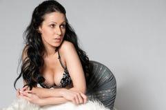 Portrait of beautiful sexy woman Royalty Free Stock Image