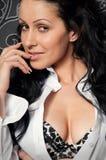 Portrait of beautiful sexy woman Stock Photos