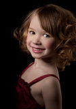 Portrait of beautiful small girl Royalty Free Stock Image