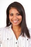 Portrait beautiful smiling female business woman Royalty Free Stock Photo