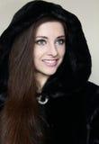 Portrait of beautiful smiling girl Stock Image