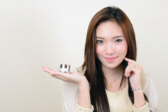 Portrait of beautiful healthy asian woman Royalty Free Stock Photos