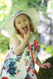 Portrait of a beautiful smiling little girl Royalty Free Stock Photography
