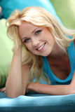 Portrait of beautiful smiling woman Stock Photography