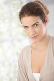 Portrait of beautiful smiling woman Royalty Free Stock Photo