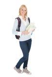 Portrait of beautiful student girl Stock Photos