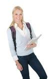 Portrait of beautiful student girl Stock Photo