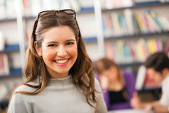 Student portrait Royalty Free Stock Image