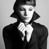 Portrait of beautiful stylish lady Royalty Free Stock Photos