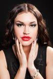 Portrait of beautiful stylish woman Royalty Free Stock Photo