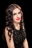 Portrait of beautiful stylish woman Royalty Free Stock Photos