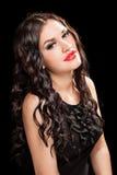 Portrait of beautiful stylish woman Stock Images