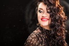 Portrait of beautiful stylish woman Royalty Free Stock Image