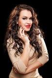 Portrait of beautiful stylish woman Royalty Free Stock Photography