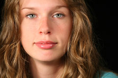 Portrait of a beautiful teen Stock Photo