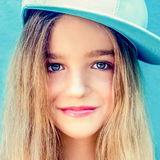 portrait of a beautiful teen girl Royalty Free Stock Photography