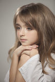 Portrait of  beautiful teen girl Royalty Free Stock Images
