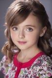 Portrait of  beautiful teen girl Stock Photography