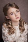 Portrait of  beautiful teen girl Stock Photos