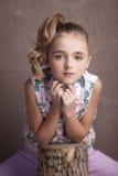 Portrait of  beautiful teen girl Royalty Free Stock Photo