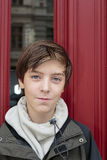 Portrait of a beautiful teenage boy Royalty Free Stock Photo