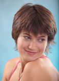 Portrait of beautiful teenage girl. Royalty Free Stock Photo