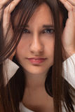 Portrait of beautiful teenage girl Royalty Free Stock Photo