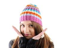 Portrait of beautiful teenage girl Stock Photo