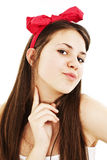 Portrait of a beautiful teenage girl Royalty Free Stock Photo