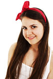 Portrait of a beautiful teenage girl Royalty Free Stock Photos