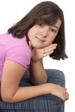 Portrait of beautiful teenage girl Stock Image