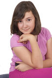 Portrait of beautiful teenage girl Stock Photography