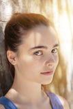 Portrait of a beautiful teenage girl Royalty Free Stock Photos