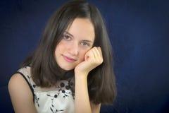 Portrait of beautiful teenage girl smiling Stock Image