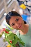 Portrait of beautiful Thai girl Royalty Free Stock Image
