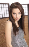 Portrait of beautiful top model. Stock Images