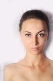 Portrait of a beautiful woman stock image