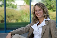 Portrait of beautiful woman Stock Photos